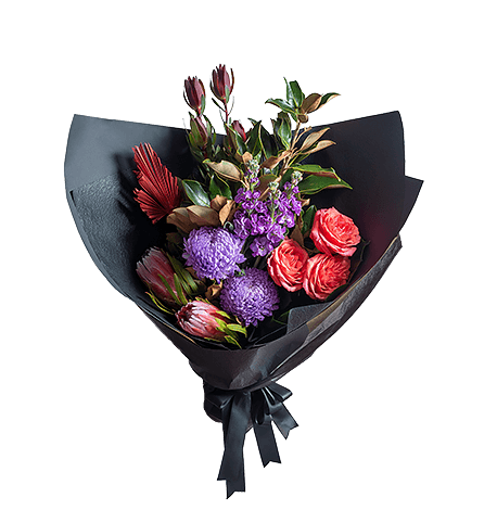 Vibrant Collection flower arrangement in Premium size