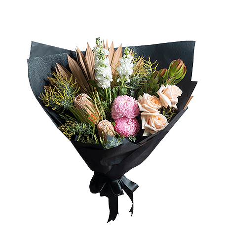 Soft Touch flower arrangement in Premium size