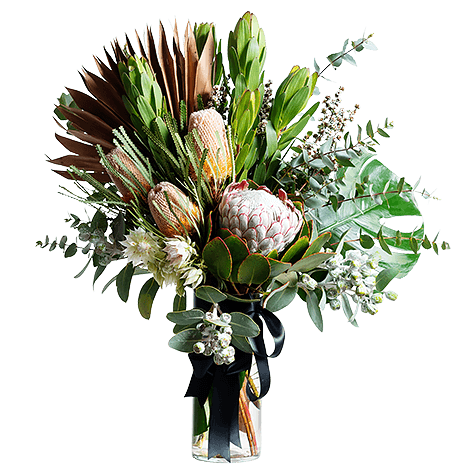 Australian Natives flower arrangement in Signature size