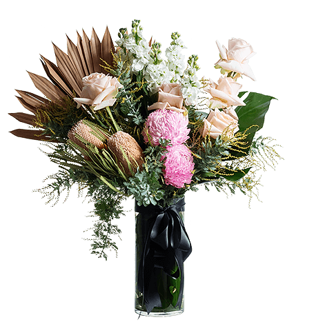 Soft Touch flower arrangement in Signature size